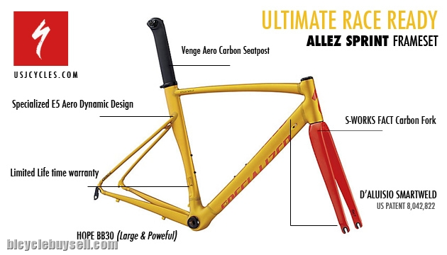 Specialized Allez Sprint X2 Frameset