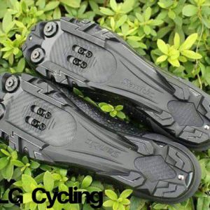 Santic MTB Cycling Shoes Men Breathable Mountain Bike Riding Shoes Self-Locking