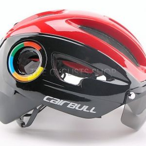 Cairbull Cycling Helmet with Magnetic Visor (CB-09) (Brand New) *Ready Stock !