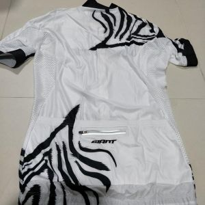 Giant Zebra Series Short sleeves Cycling Jersey White