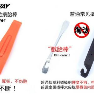 Cycling MTB RB KENWAY Nylon Bicycle Tyre Lever Opener Tyre Repair Tool Kit