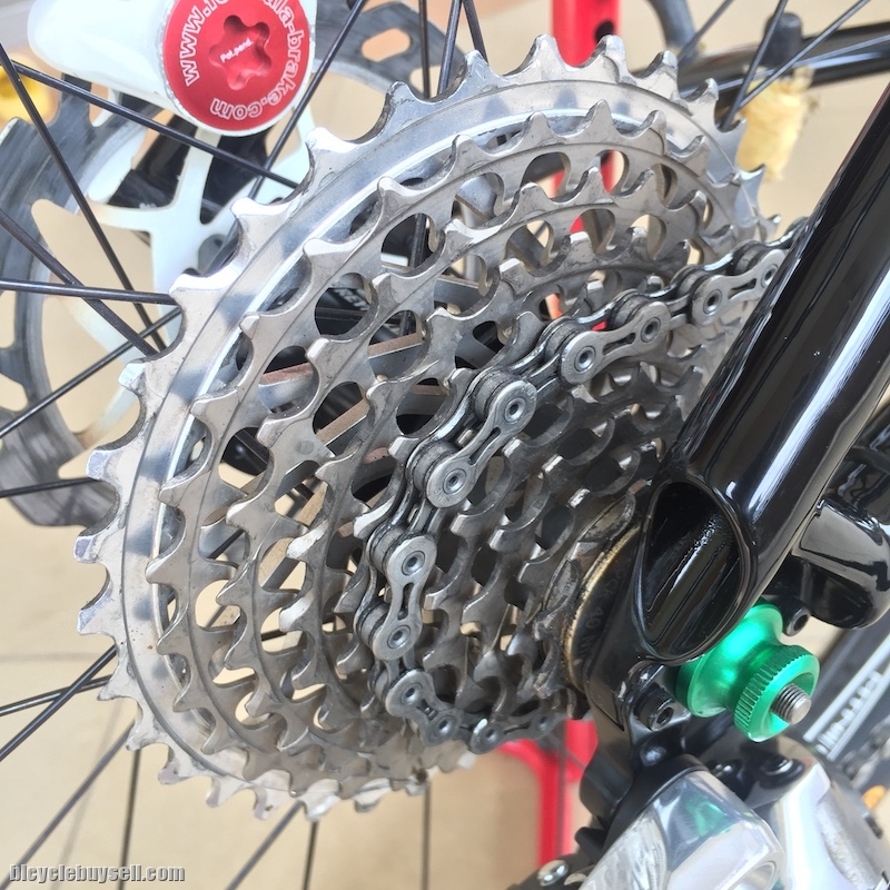 e3aad37cd4f Bundle SRAM XX Drivetrain / Cassette / Shifter / Chain / RD with Handmade  Carbon Cage & Pulley