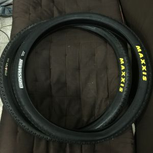 26er maxxis crossmark tyres - 1.95 and 2.1