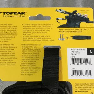 Topeak Fast Fuel Tribag (Road-Trithlon) Taiwan Made @ free pos