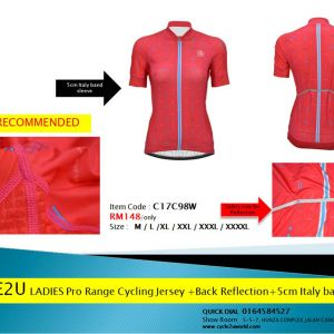 Cycle2u Pro Range Cycling Ladies short sleeve jersey