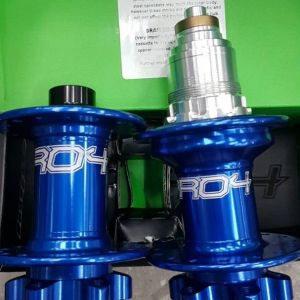 Hope Evo Pro 4 Hub (Blue Color) Front (15mm) & Rear (quick release)