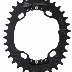Doval Oval Single Chainring 34T BCD 96