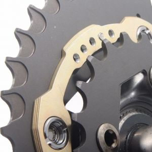 Doval oval Double Chainring 40/26 BCD  120/80 for MTB (SRAM)