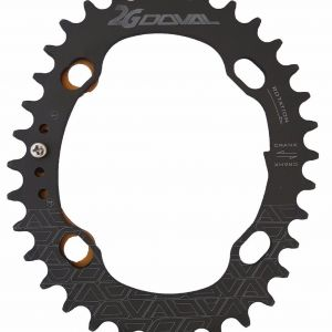 Doval Oval Single Chainring 34T BCD 104