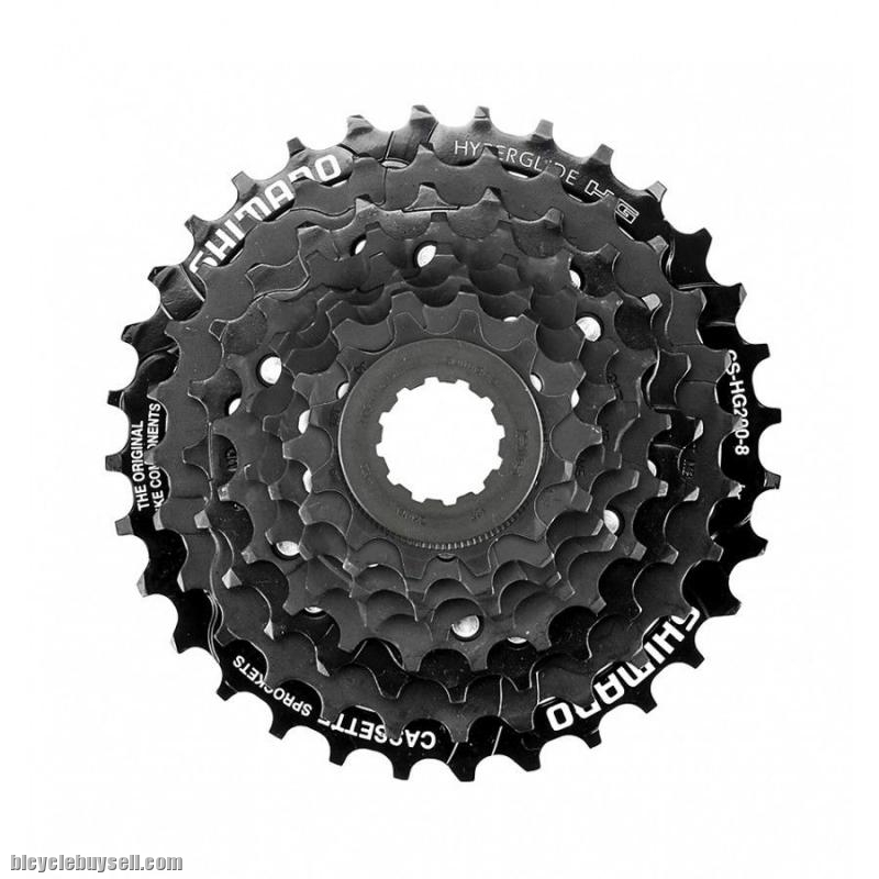 474260a7142 CLEAR STOCK 8 Speed 12-32T Shimano CS-HG200-8 br Cassette / Cog