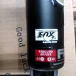 Fox Performance Series Fit4 2016 (100mm) Tapered and Quick Release