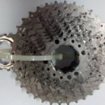 Shimano deore cassette used 10 speed - only 1 ride