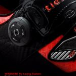 Tiebao road cycling clipless carbon fibre outsole shoe 3 holes RB RC7