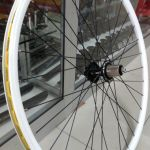 700c Author Argon Cross White Wheelset