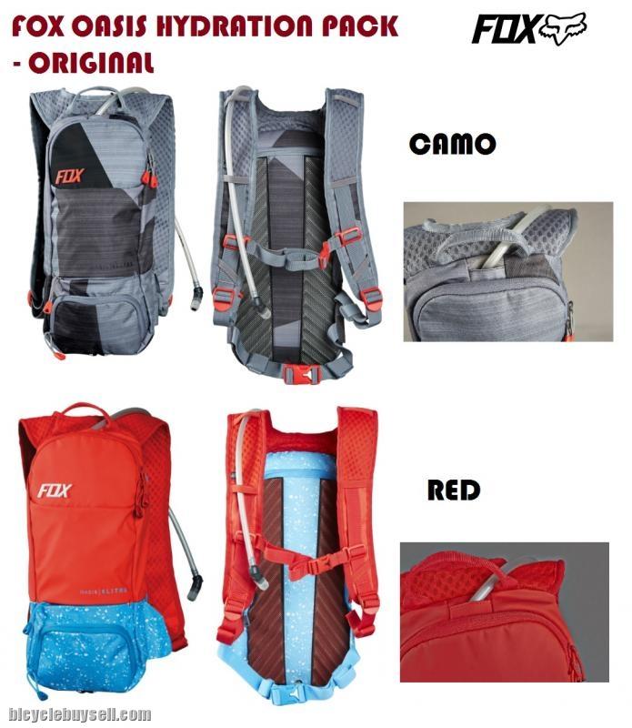 8b95aa44e371 FOX - Oasis Hydration Bag 6L - Backpack