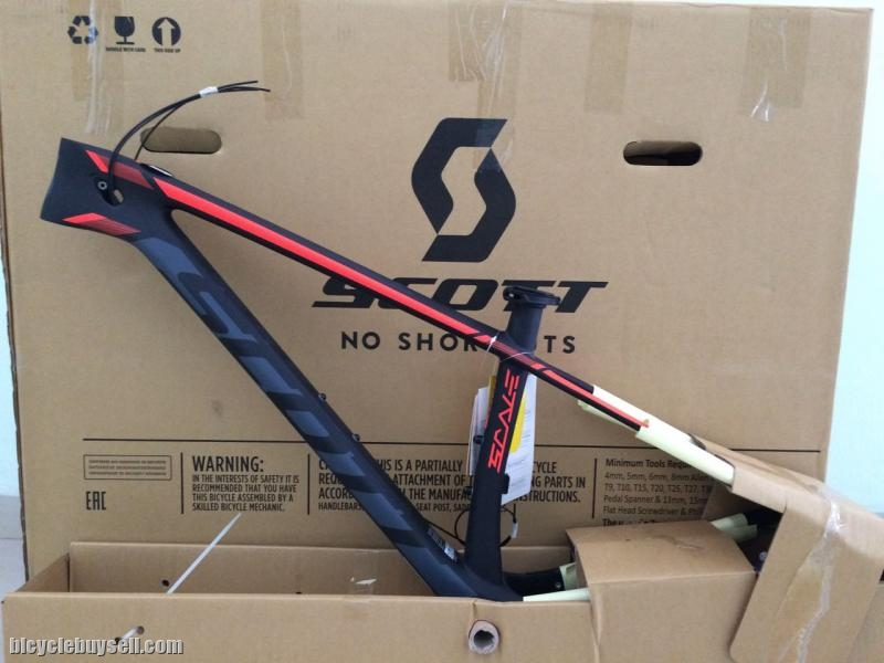fd07a12483a Brand New Scott Scale 910 Carbon Frameset