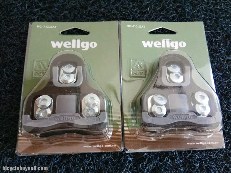49081611c Wellgo RC7 Road Cleat Compatible With LOOK Keo
