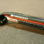 Mosso 3D Forged Carbon Alloy Seat Post 31.6mm x 400mm