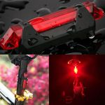 RAPID-X RECHARGEABLE USB LED REAR LIGHT SUPER LIGHT WEIGHT