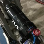 "x-fusion  ninety-six - 7.5"" rear shock with lockout"