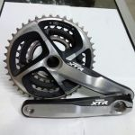 Shimano XTR CRankset Tripple - Used for less than 4 weeks. Selling due to upgrade to Single Chainrin