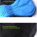 Cycling Padded Short Pant 3D Silicone Pad