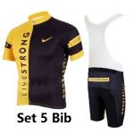 Livestrong shorts sleeve cycling jersey padded