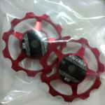 12o'clock RD Pulley Kit for SRAM/Shimano/Camp/etc red - Selling due to mismatch colour