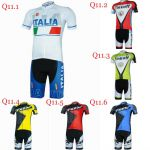 Team kits Short sleeve cycling jersey shorts padding bib Tinkoff saxo Italia fox