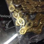 KMC X11L Gold Hollow Chain / World Best Chain (free pos w.m)