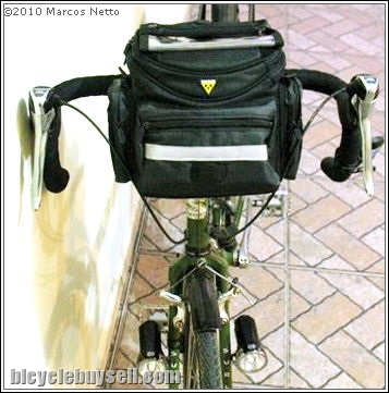 Amazon. Com: topeak tour guide handlebar bag dx tt3018b: bike.