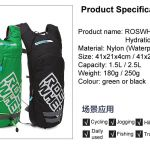Roswheel Hydration Backpack (Free 2L Water Bladder)