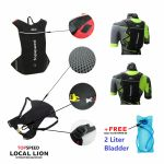 Topspeed Locallion Hydration Backpack + free Water Bladder