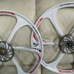 Sport Wheelset 26er - 2 months old with rotors