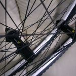 26er Wheelset with tyres n tubes - Shimano hubs brand new all