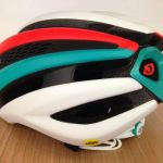 Giro Synthe with MIPS - Matte White / Turquoise / Vermillion