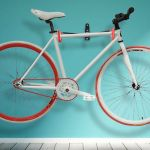 Wall hook bike display
