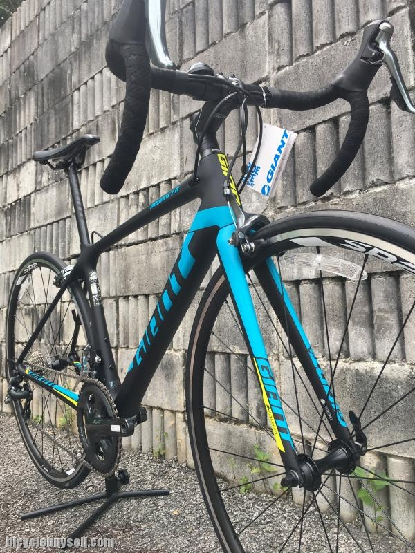All New 2018 Giant Tcr Advanced 3