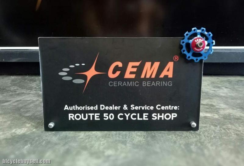 CEMA BOTTOM BRACKET BSA24 (CERAMIC BEARING)