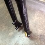 Epixon 29er Air Fork Remote Lockout - All Black - QR/100mm / Latest Model (free pos w.m)