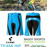 CUBE TEAMLINE BAGGY SHORTS (ORIGINAL FACTORY)