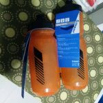 2017 Giant 750ml Water bottles clean spring in Transparent Orange / Blue  / Black Pour Fast - Taiwan