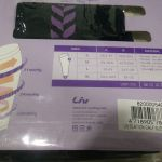 LIV by Giant compression calf sleeves Black - purple S / L Sizes