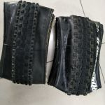 27.5*2.1 tyre 2pcs - 1 crossmark II (9.9/10) n another crosdmark (7.5/10)