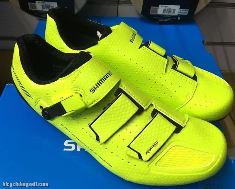 Rp5 Shimano Road Shoes Fluro Yellow
