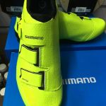 Shimano RP5 Fluorescent green edition road shoe