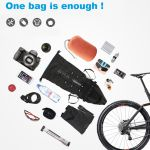 bicycle saddle back bike waterproof bag large capacity tail water