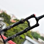 KRSEC XC50 120mm travel MTB lightweight fork Remote lock Rockshox Reba
