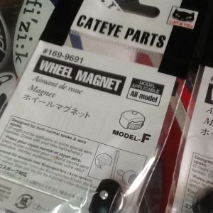 Cateye Wheel Magnet / For All Model Compatible - Japan (free pos w.m) Promotion