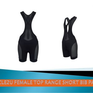 Ladies Top range extra short bib pants